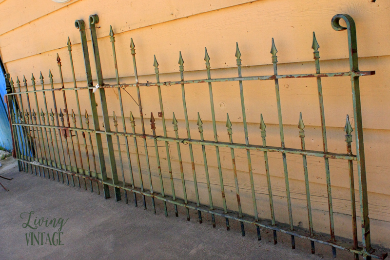 hire a welder and this old gate would once again be a nice driveway gate