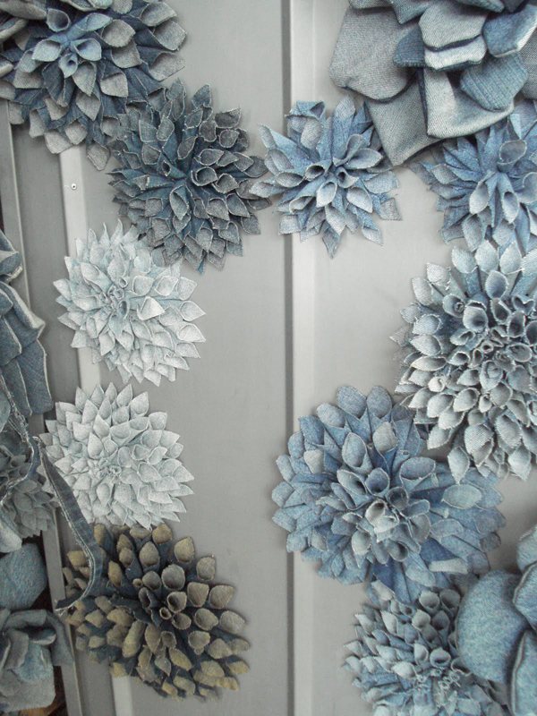 pretty flowers made with denim -- 1 of 8 picks for this week's Friday Favorites