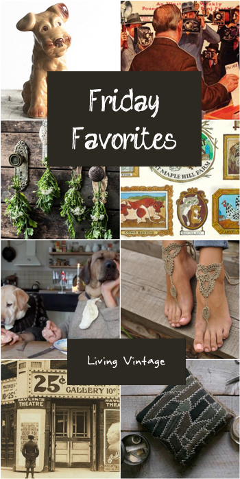 Friday Favorites #78 @ Living Vintage