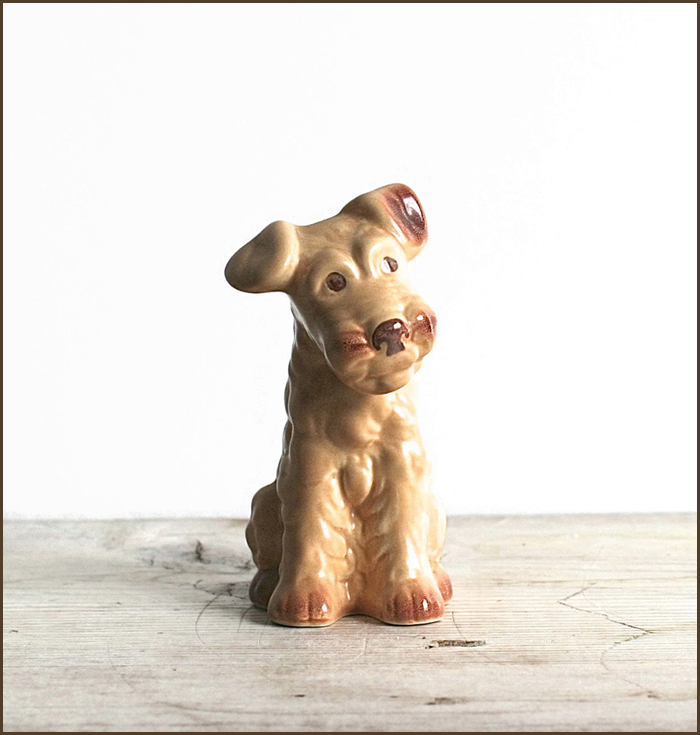 an adorable terrier figurine - one of 8 picks for this week's Friday Favorites