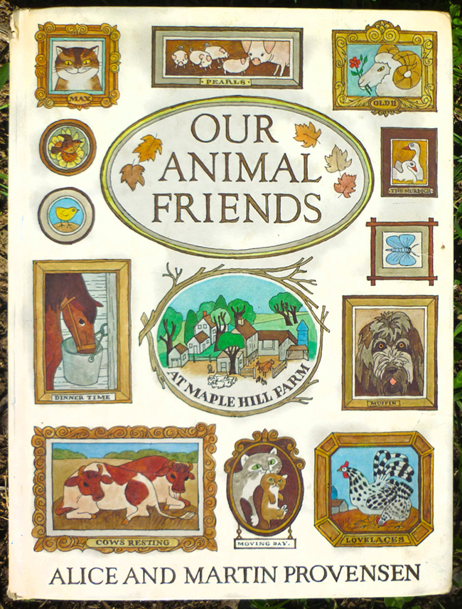 fabulous animal illustrations in a vintage children's book - one of 8 picks for this week's Friday Favorites