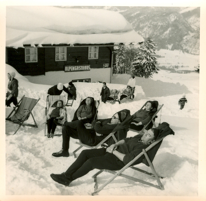 such an odd, funny photo of people taking a nap in the snow - one of 8 picks for this week's Friday Favorites