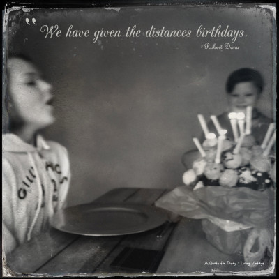 Another Year Older (2/52)