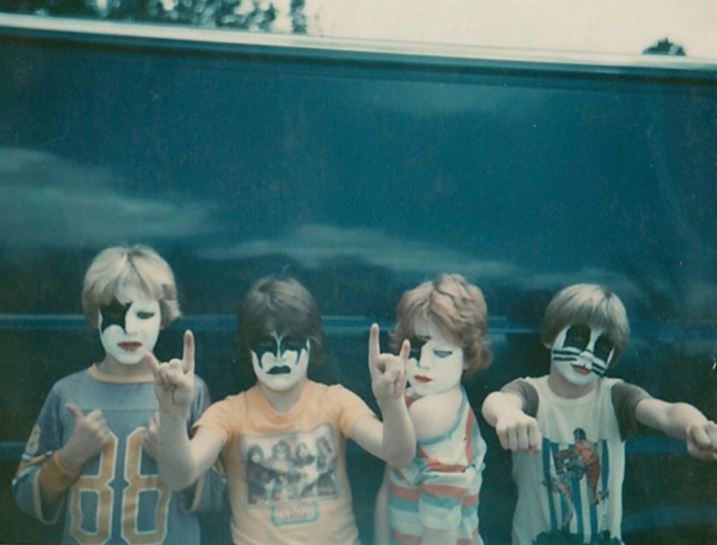 4 young KISS fans - one of 8 picks for this week's Friday Favorites