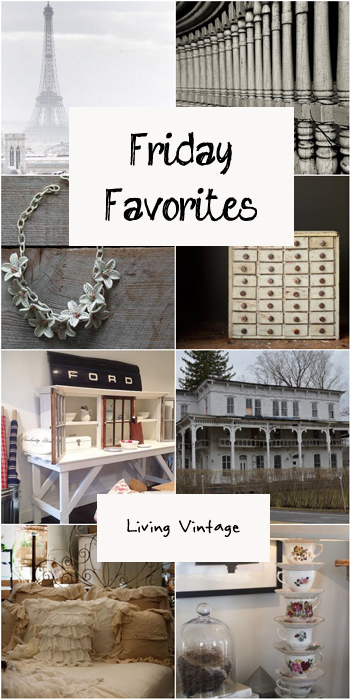 Friday Favorites #87 @ Living Vintage