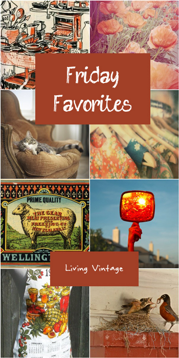 Friday Favorites #89 @ Living Vintage