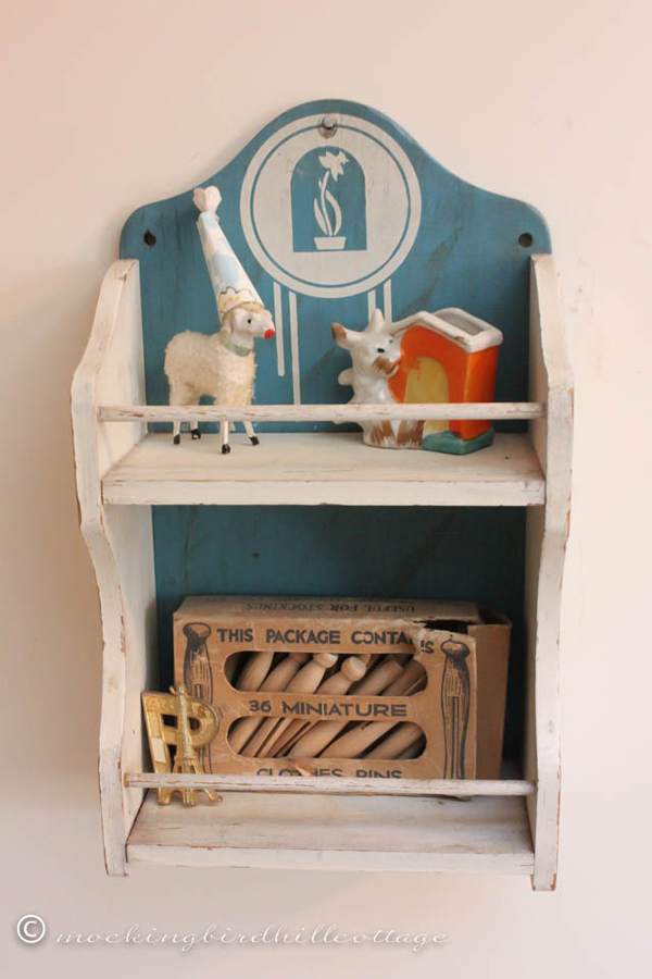 little shelves like this one are so handy for displaying miniatures! |one of 8 picks for this week's Friday Favorites