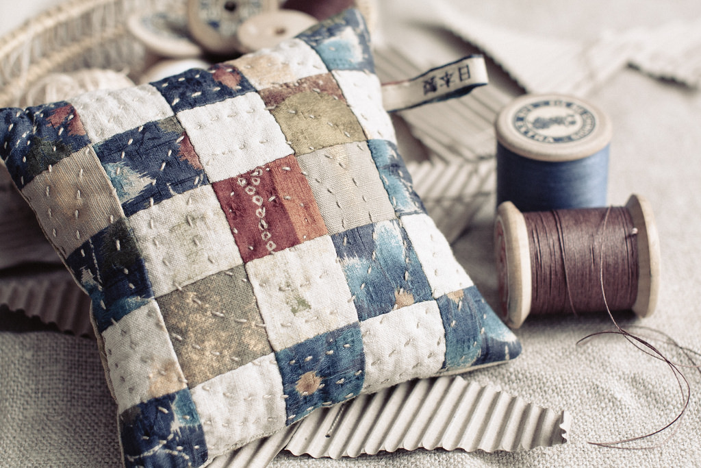 a charming patchwork pincushion (and a pretty still life) - one of 8 picks for this week's Friday Favorites