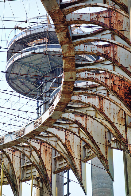 pretty industrial architecture and rusty patina - one of 8 picks for this week's Friday Favorites