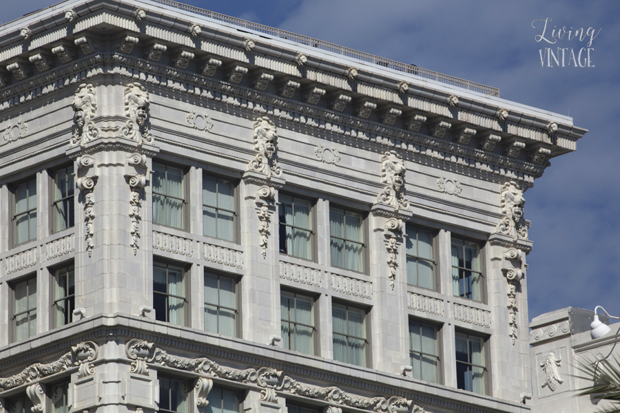 beautiful architectural detail in New Orleans