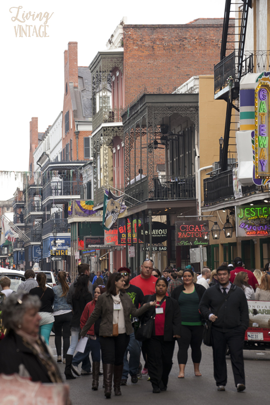 historic downtown New Orleans