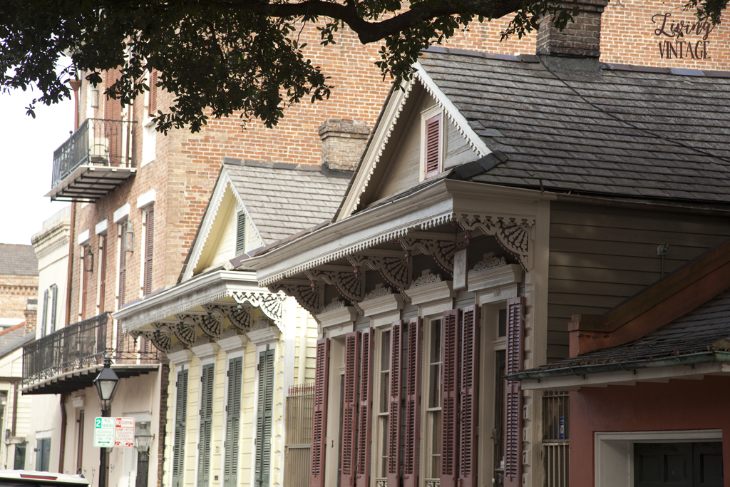 stunning corbels and architecture in New Orleans