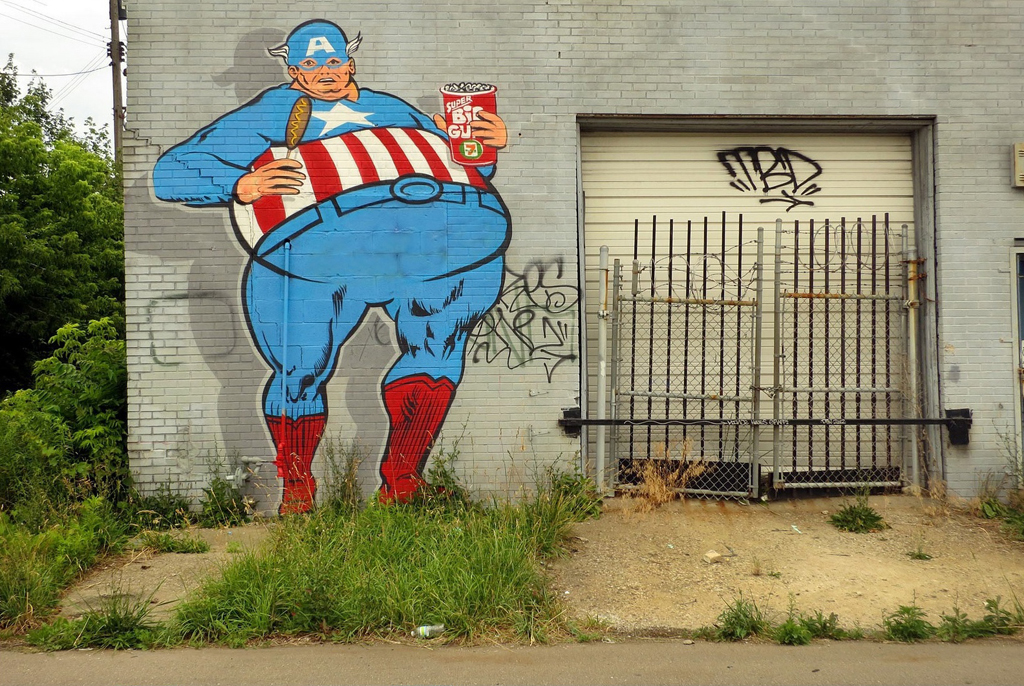 naughty Captain America - one of 8 picks for this week's Friday Favorites