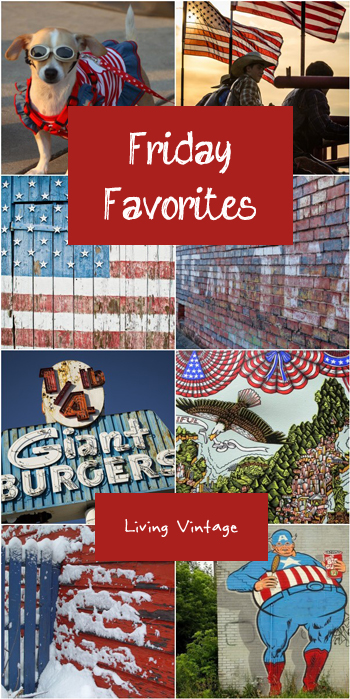 Friday Favorites #104 in red, white and blue