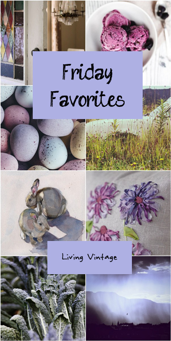 Friday Favorites #96 at Living Vintage