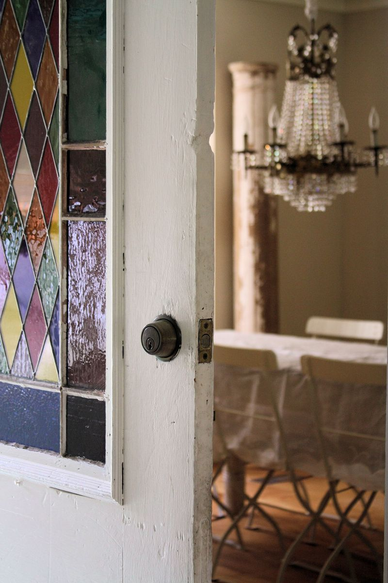 a beautiful stained glass door - 1 of 8 picks for this week's Friday Favorites