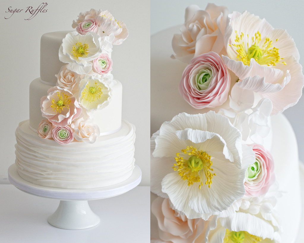 an absolutely beautiful wedding cake - 1 of 8 picks for this week's Friday Favorites