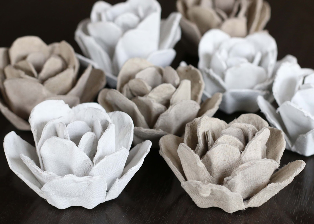 egg carton roses (with a tutorial) - 1 of 8 picks for this week's Friday Favorites
