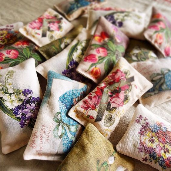 pretty lavender sachets - one of 8 picks for this week's Friday Favorites