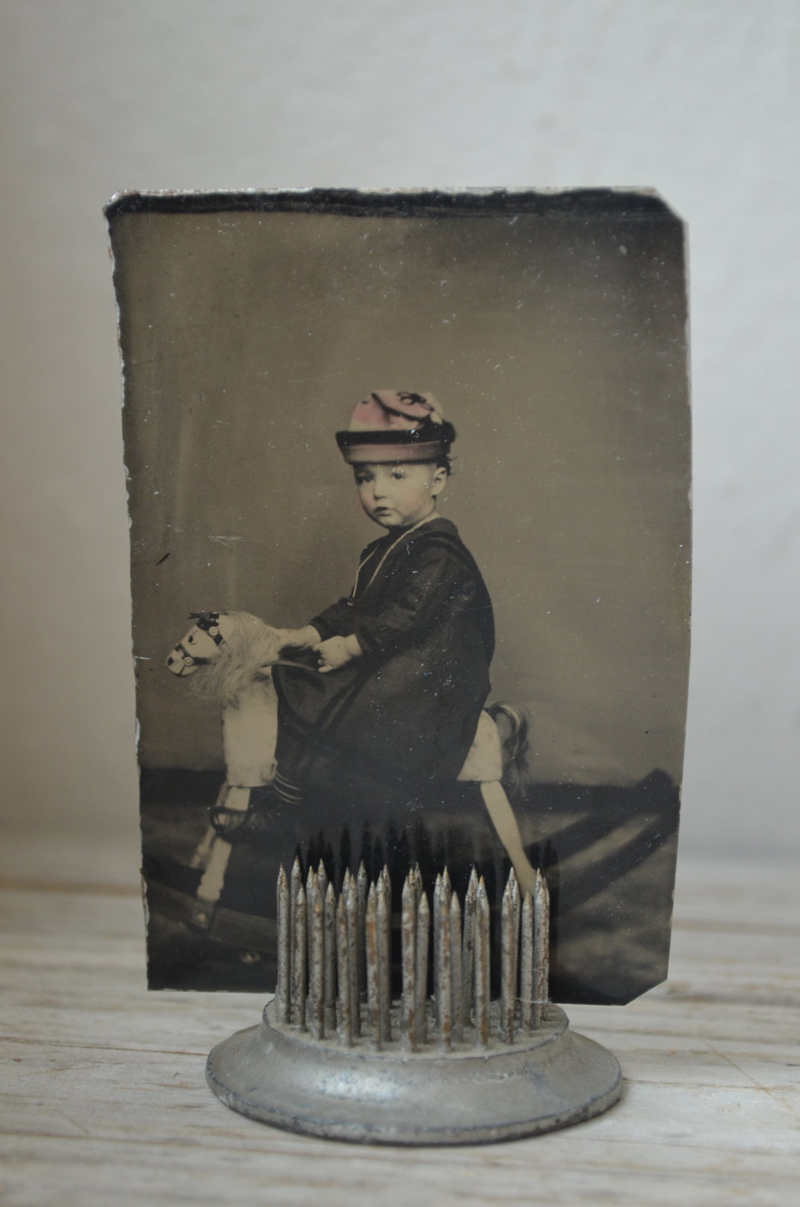 a rare rocking horse tintype - 1 of 8 picks for this week's Friday Favorites
