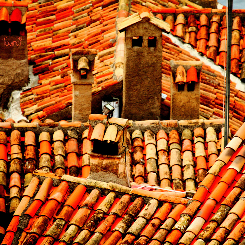 gorgeous tile rooftops in Provence - 1 of 8 picks for this week's Friday Favorites
