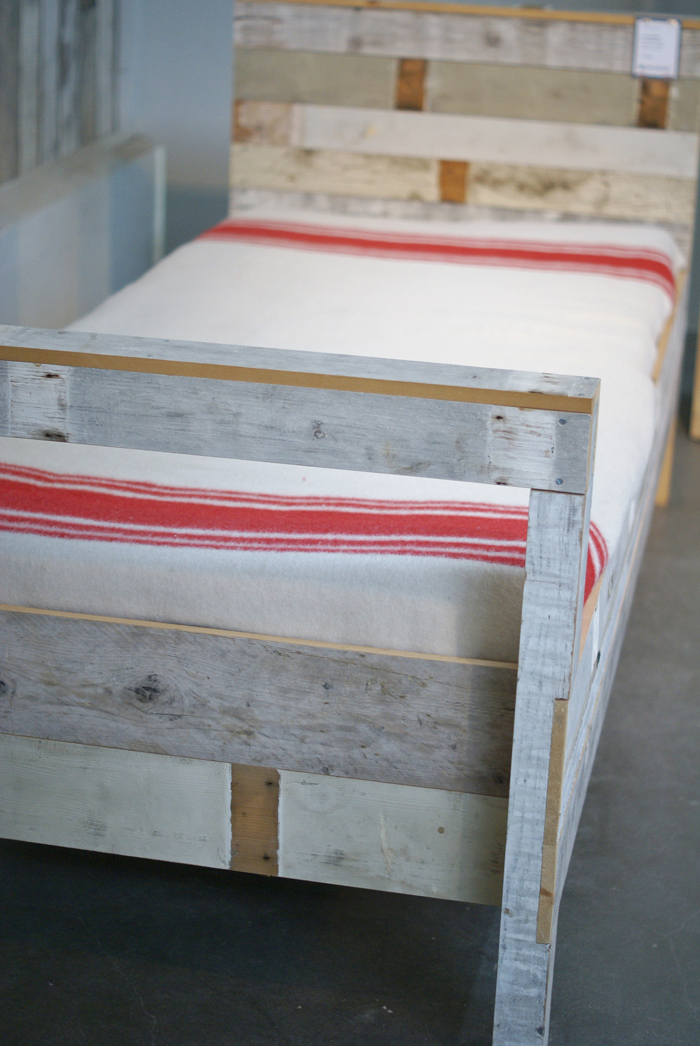 such a fun bed made with 2x4's and shiplap - it's 1 of 8 picks for this week's Friday Favorites
