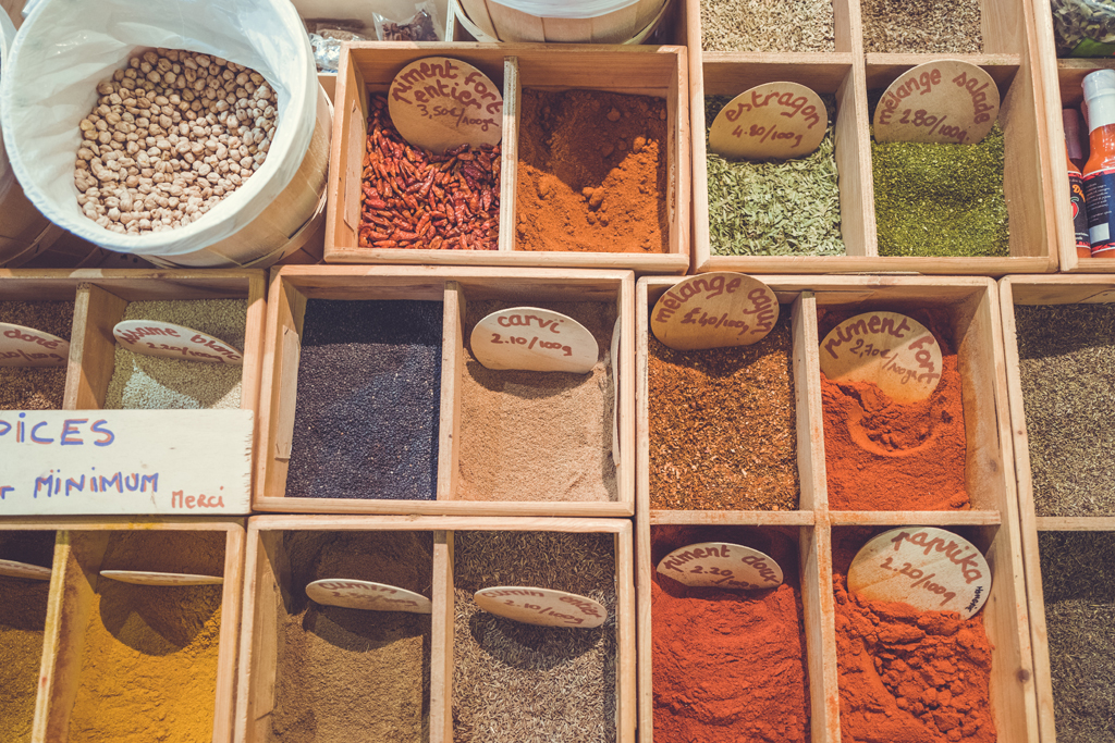 the beautiful colors and flavors of fresh spices - 1 of 8 picks for this week's Friday Favorites