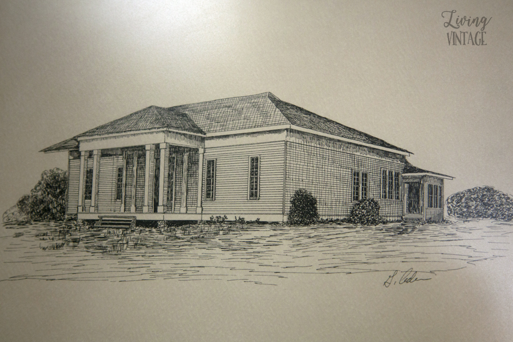 an illustration of our old dogtrot