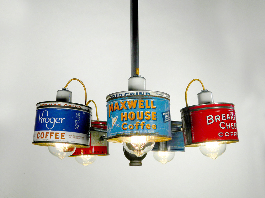 a creative and fun way to upcycle old coffee cans - 1 of 8 picks for this week's Friday Favorites