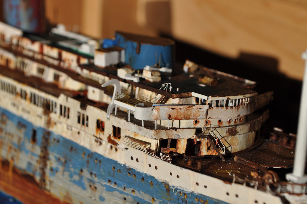 a superb model of an old dilapidated ship - 1 of 8 picks for this week's Friday Favorites