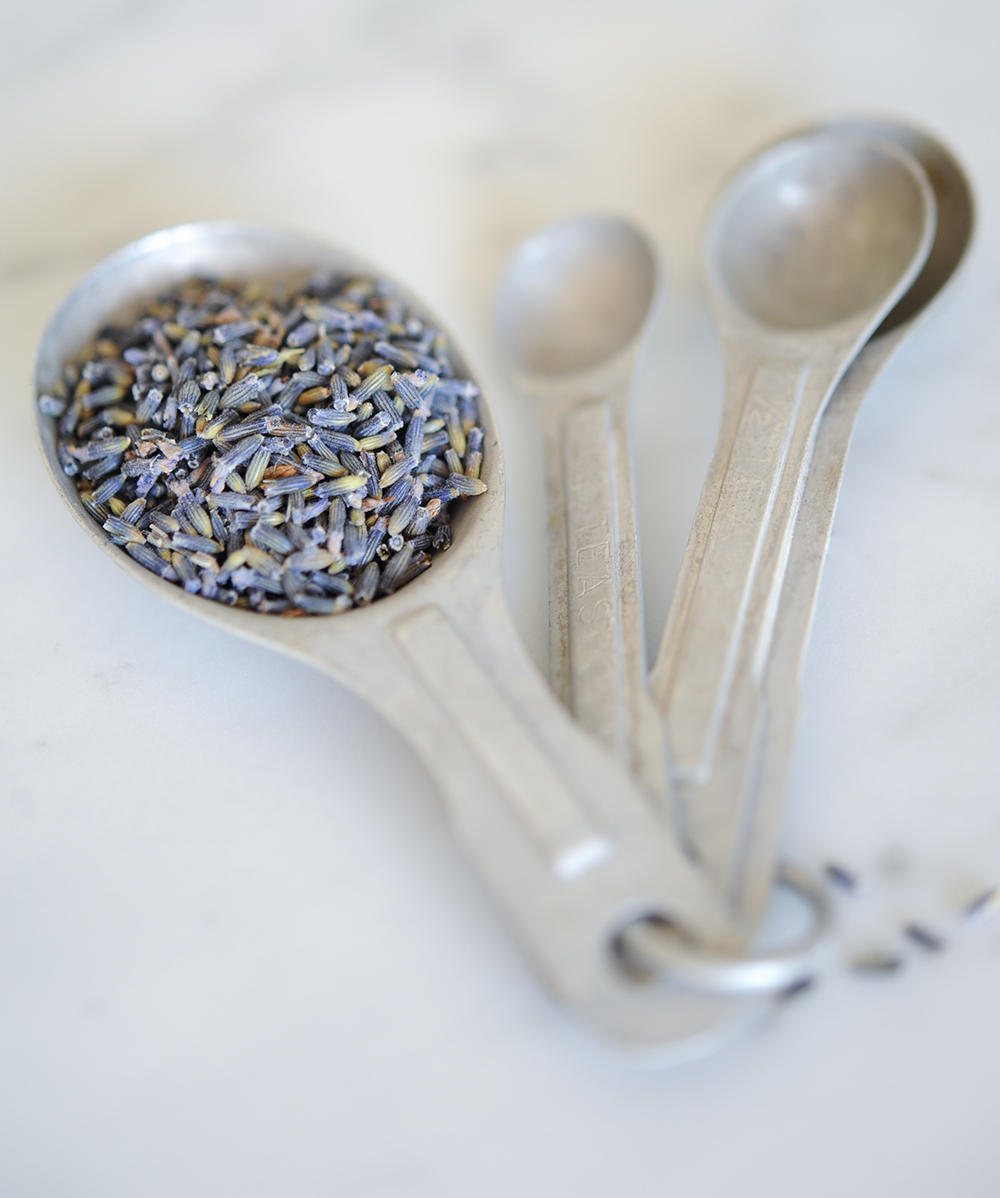a spoonful of tiny dried lavender - 1 of 8 picks for this week's Friday Favorites