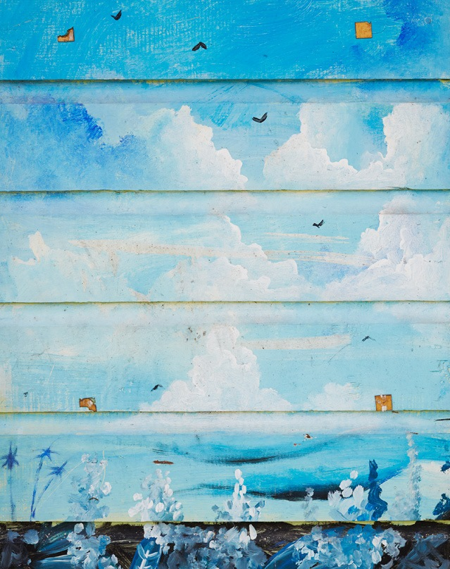 pretty artwork on siding in Tobago - 1 of 8 picks for this week's Friday Favorites