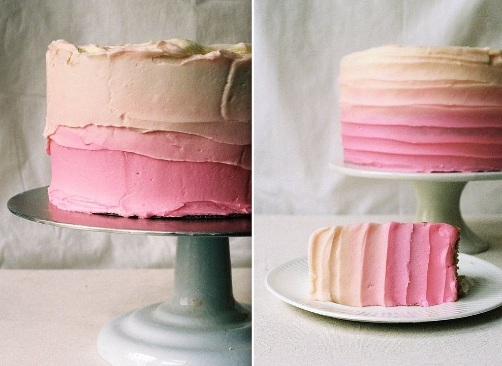 a pretty ombre cake - 1 of 8 picks for this week's Friday Favorites