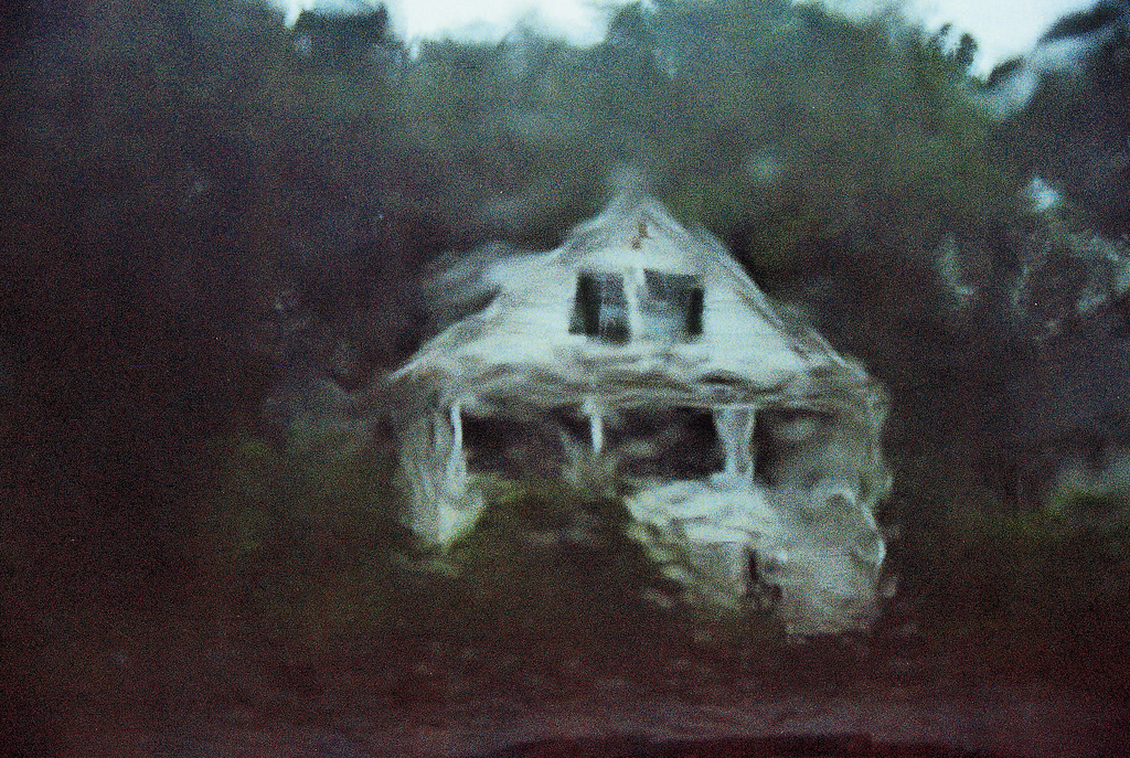 a view of a pretty cottage, smeared by the rain - 1 of 8 picks for this week's Friday Favorites