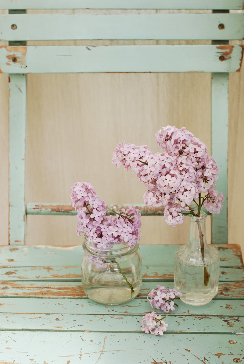 Pretty flowers don't require fancy vases. - 1 of 8 picks for this week's Friday Favorites