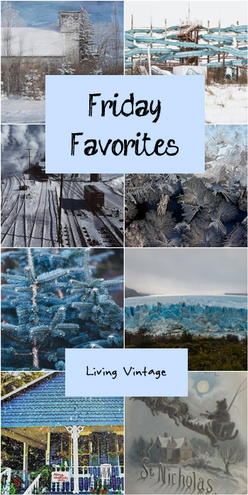 Friday Favorites #128 over at Living Vintage. Check it out!
