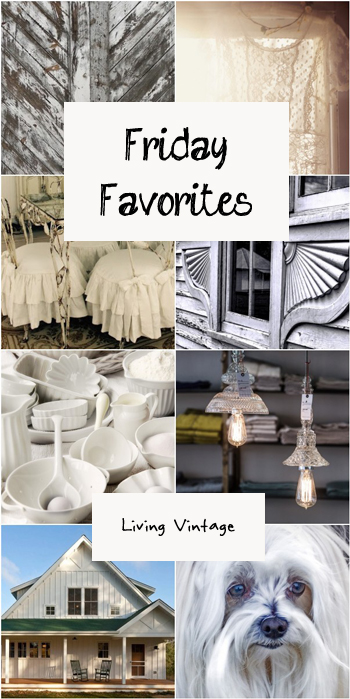 Friday Favorites #117 @ Living Vintage