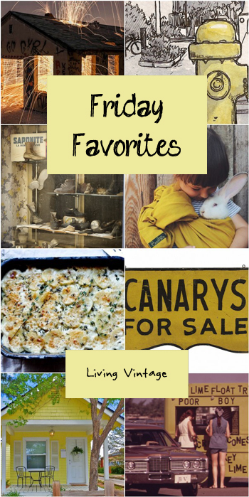 Friday Favorites #116 @ Living Vintage
