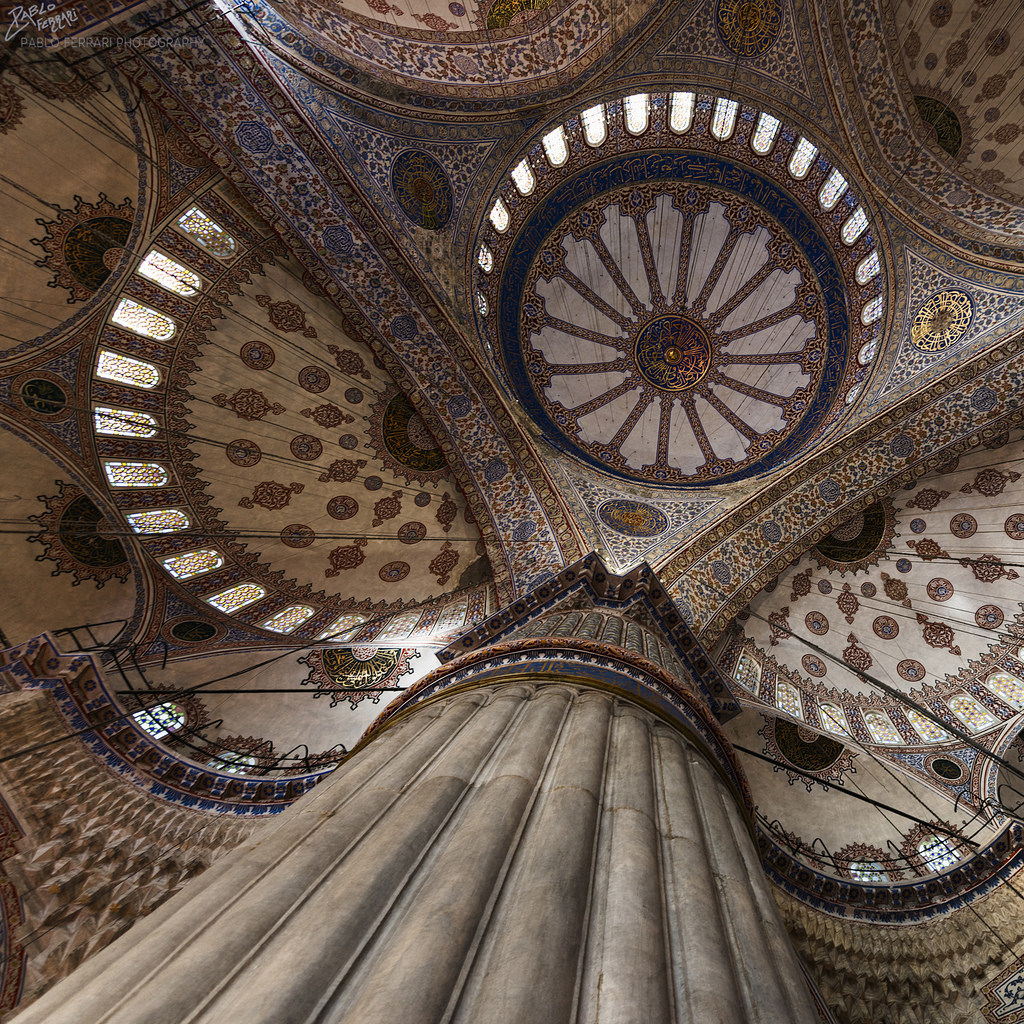 beautiful artistry in a mosque in Istanbul - 1 of 8 picks for this week's Friday Favorites