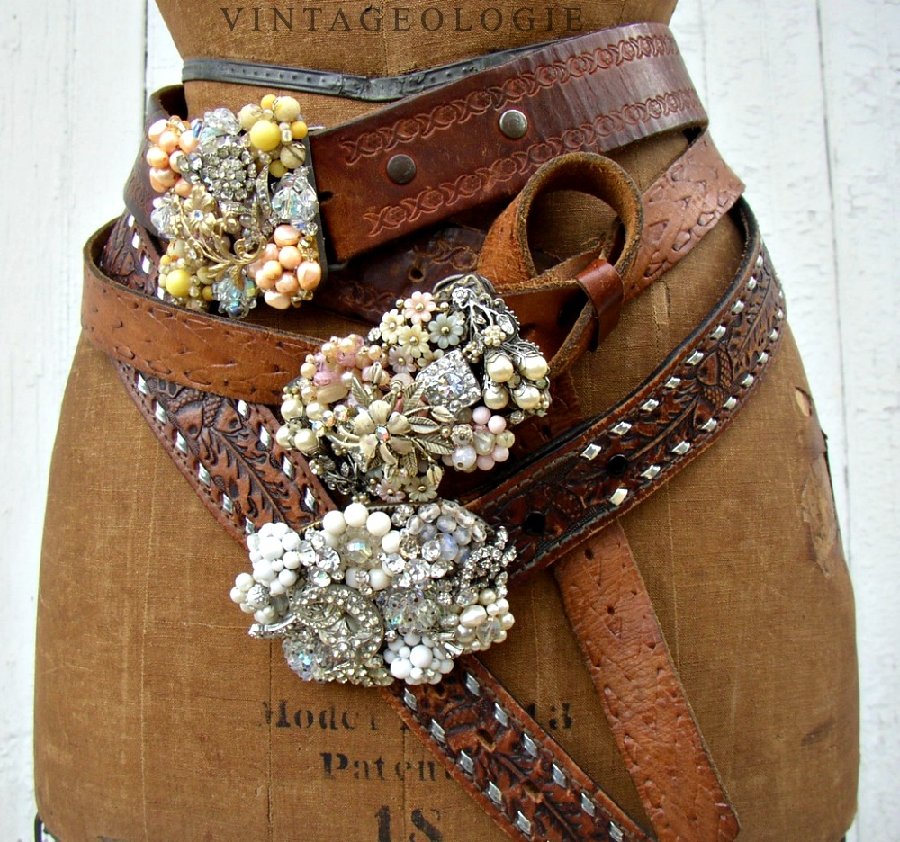 pretty, blingy belts - 1 of 8 picks for this week's Friday Favorites