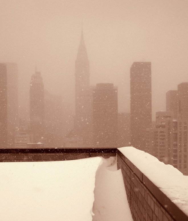 a winter wonderland (in New York) - 1 of 8 picks for this week's Friday Favorites
