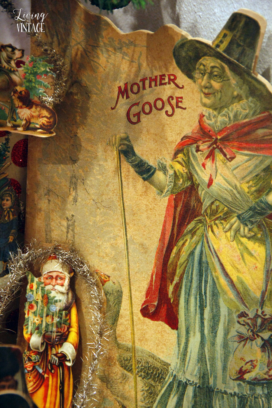 Mother Goose and other paper ephemera