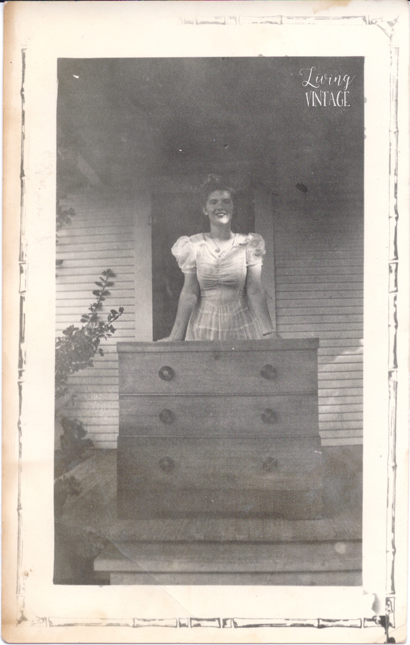 one of several found photos featured on Living Vintage