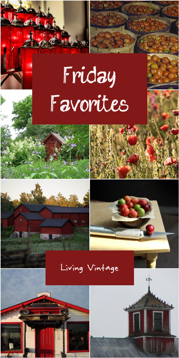 Friday Favorites, this time in red