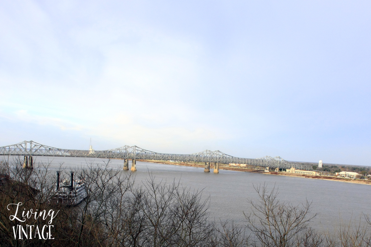 the mighty Mississippi River, seen from Vicksburg National Military Park