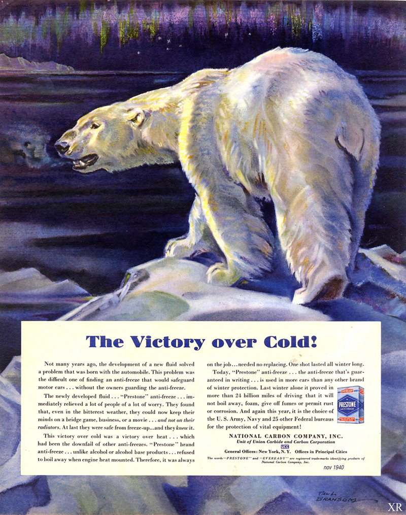 antifreeze's victory over cold