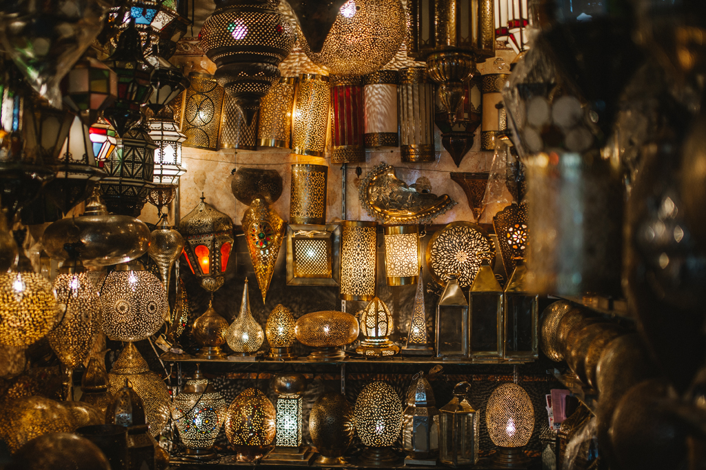 lighting options in Morocco