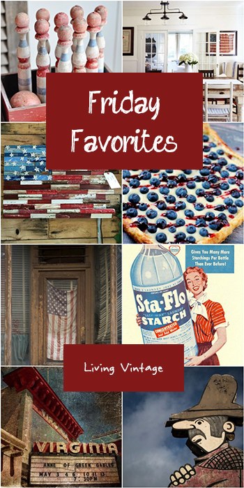 Friday Favorites #150 at Living Vintage